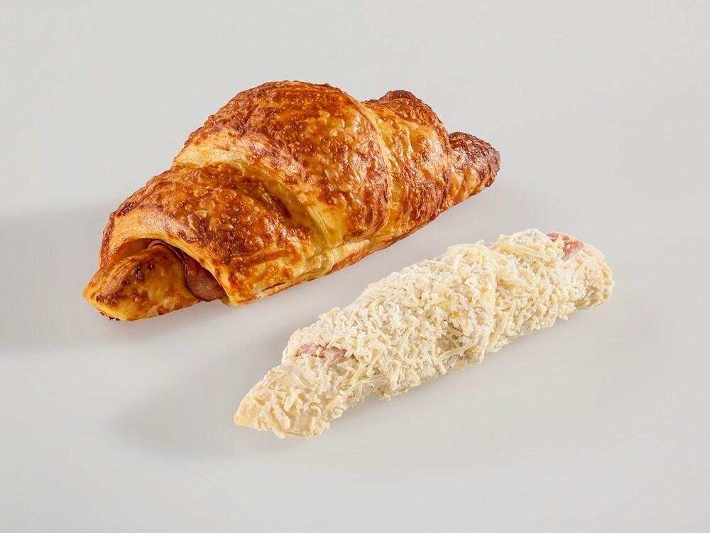 Procema Ham-Kaas Croissants Roomboter Plakjes(45)
