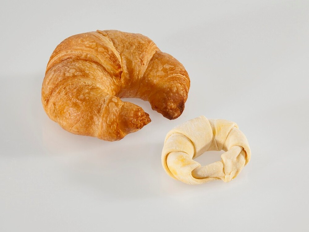 Procema 4008 Roomboter Croissant Rond ( Caroteen ) (175)
