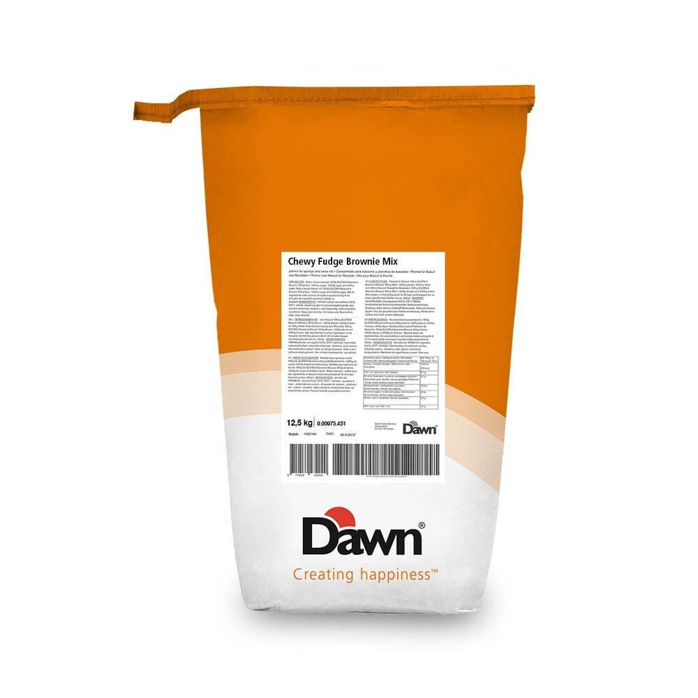 Dawn Brownie Fudge Mix UTZ 12.5 kg