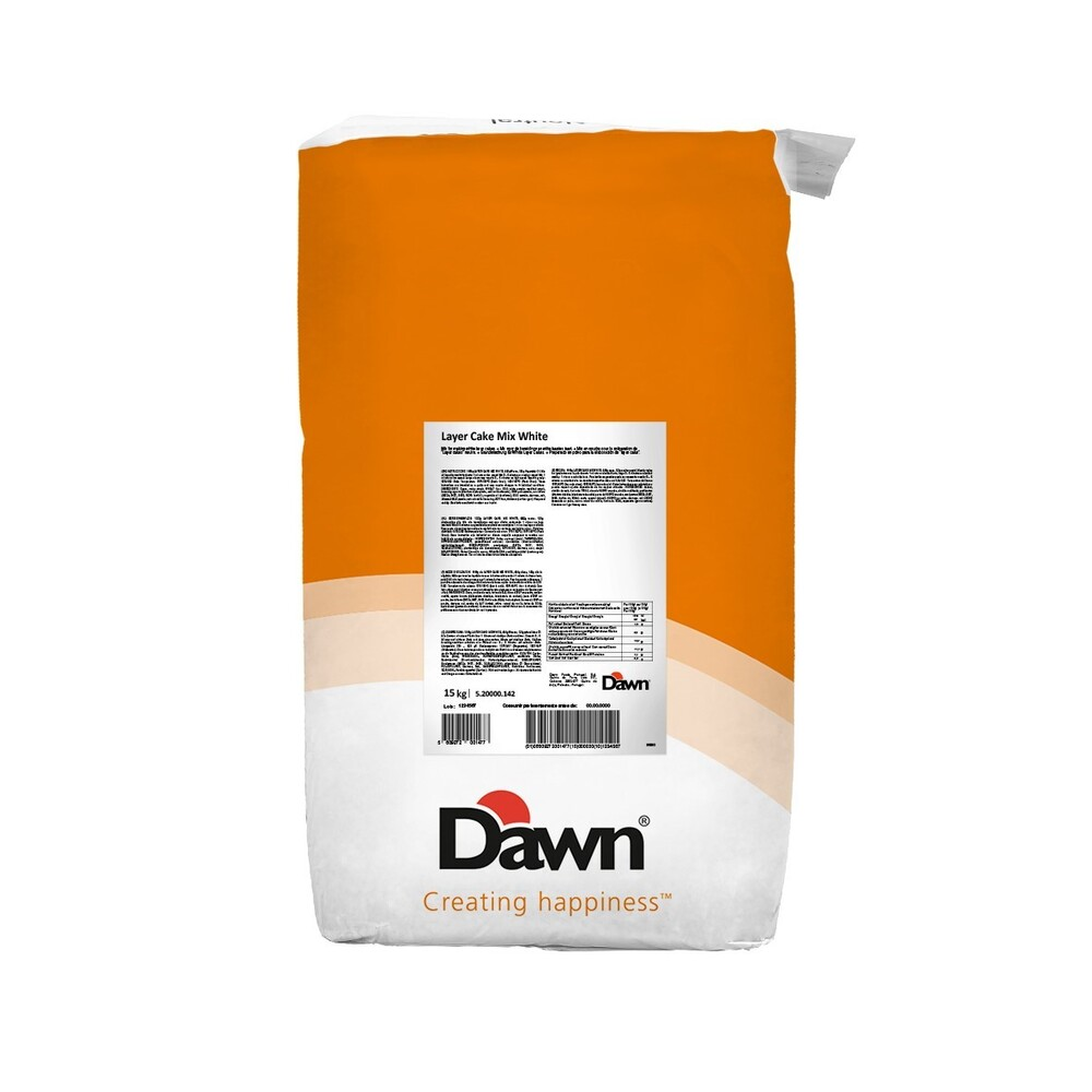 Dawn Layer Cakemix White RSPO  MB/SA 15 kg