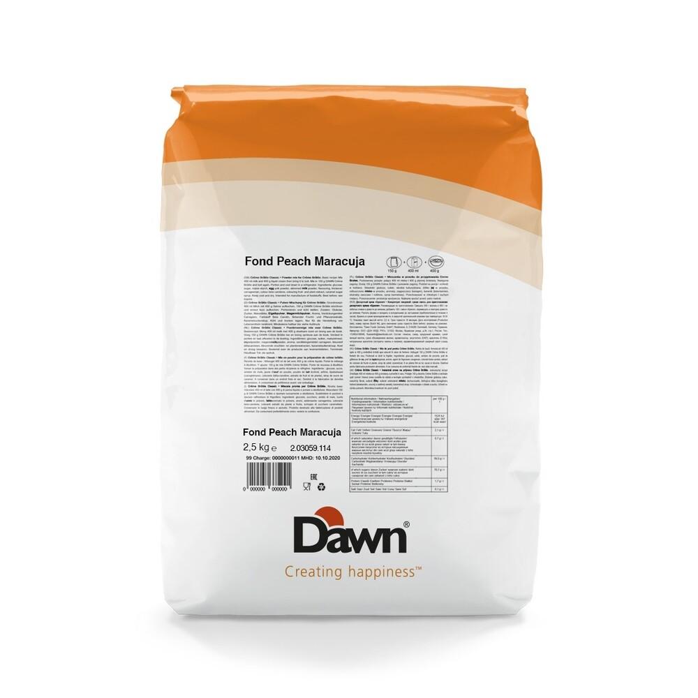 Dawn Fond Perzik/Maracuja 5 kg