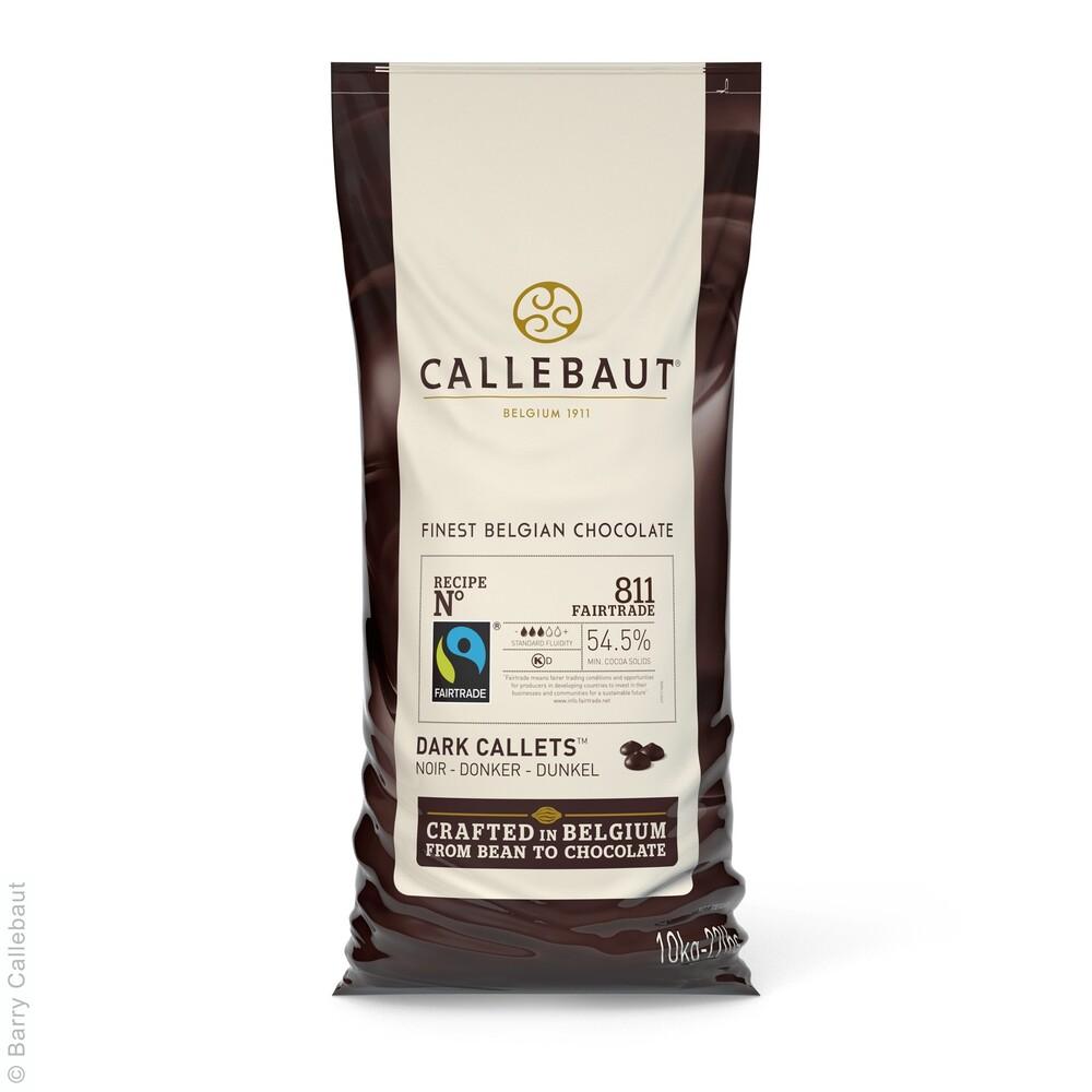 Callebaut  811 Callets Puur 10 kg