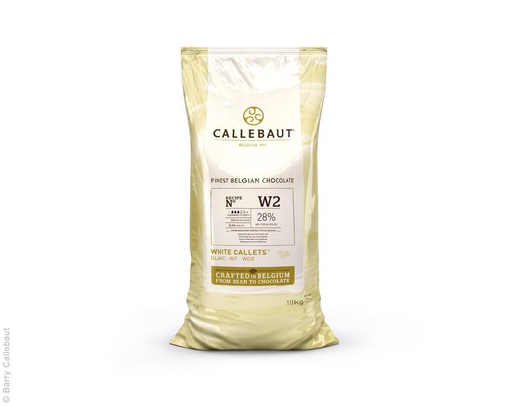 Callebaut  W2 Wit Chocolade  Callets 10 kg