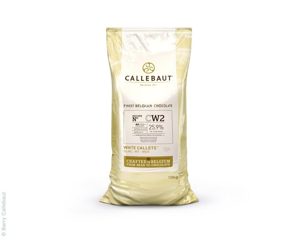 Callebaut  Cw2 Wit Callets 10 kg (Dikte 2 Druppels)