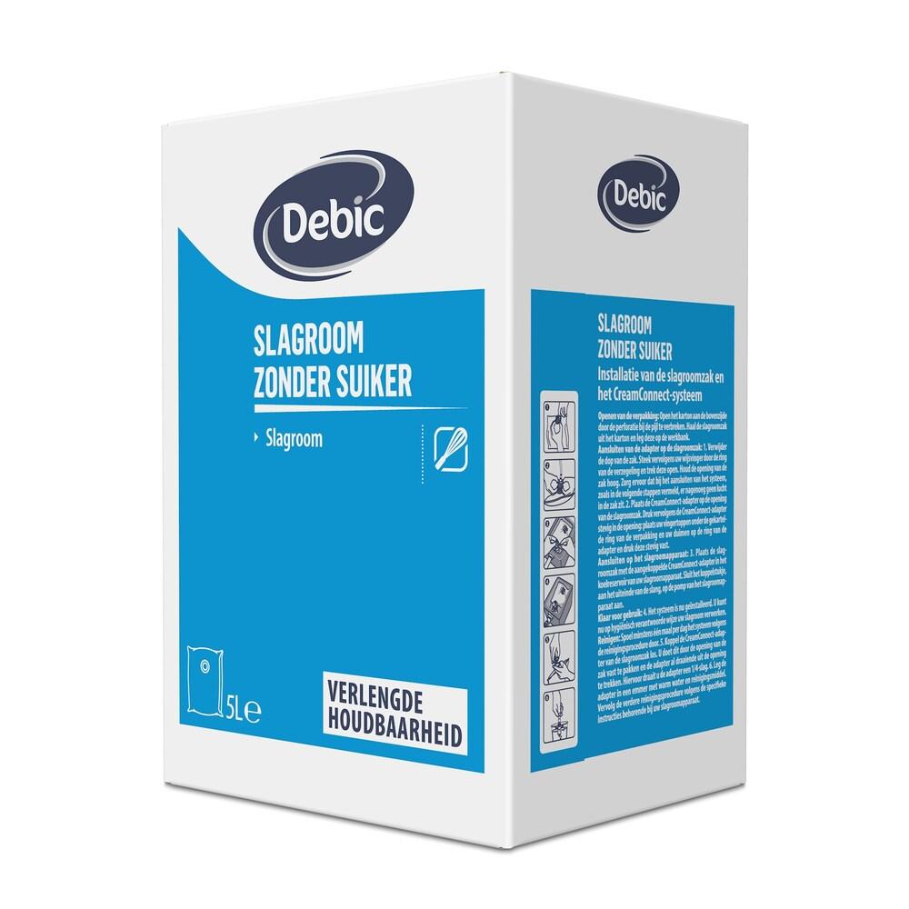 Debic Slagroom met 12.5% Suiker  BIB 5ltr LH