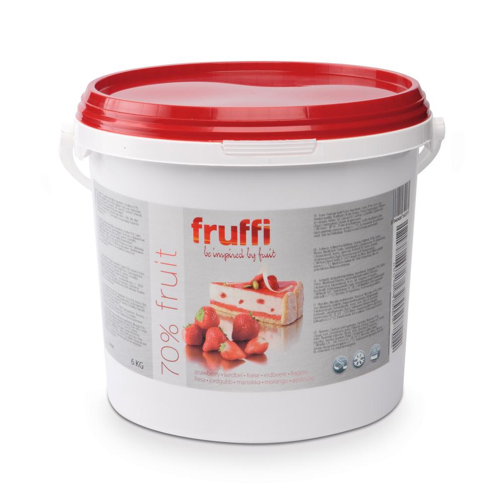 CSM Fruffi Aardbei Plus 6 kg