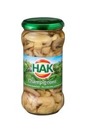 HAK Champignons in schijfjes 210ml