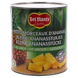 Del Monte Ananas Tidbits op siroop 3kg
