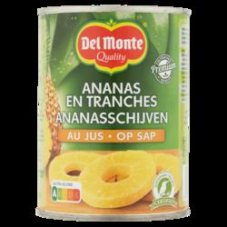 Del Monte Ananas Schijven op sap 565g