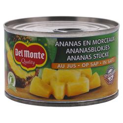 Del Monte Ananas Stukjes op sap 230g