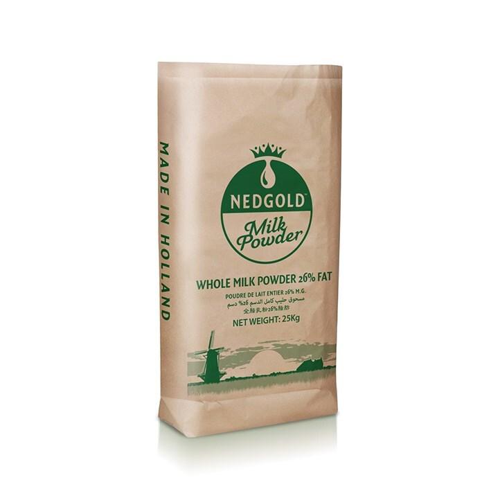 Nedgold melkpoeder 26% 25kg