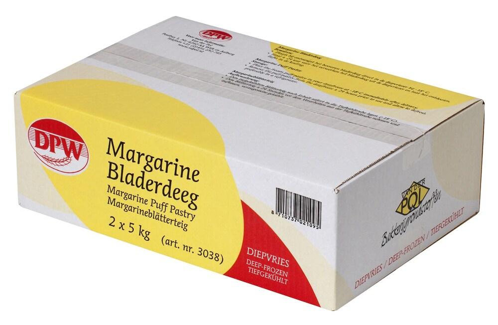Van Der Pol Margarine Korstdeeg 2 X 5 kg